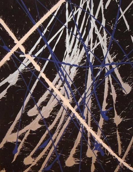 Wall Art - Painting - Cross by CJ  Smalls