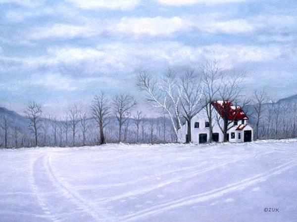 Painting - Cross Country by Karen Zuk Rosenblatt