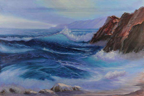 Painting - Cross Current by Eva Volf