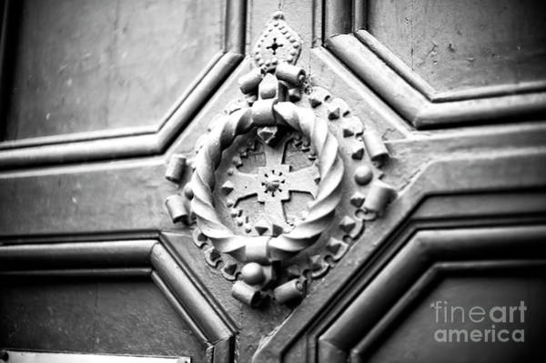 Photograph - Barcelona Cross Door Knocker by John Rizzuto