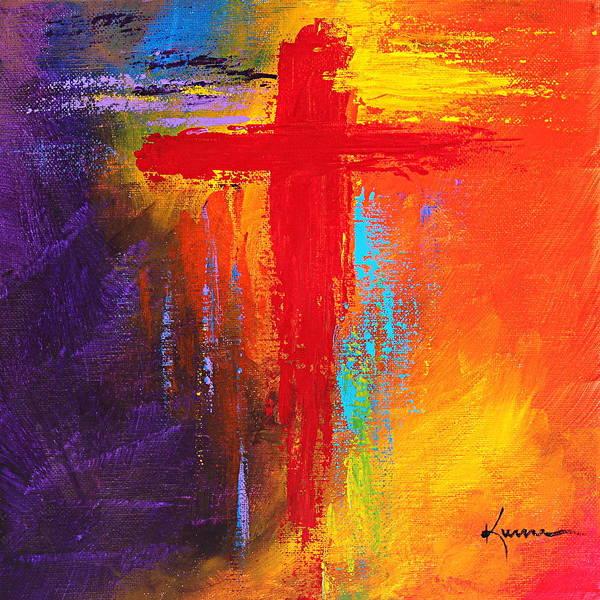 Wall Art - Painting - Cross No.1 by Kume Bryant