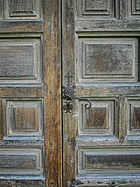 Photograph - Cross Lock Door Handle by Charles McKelroy