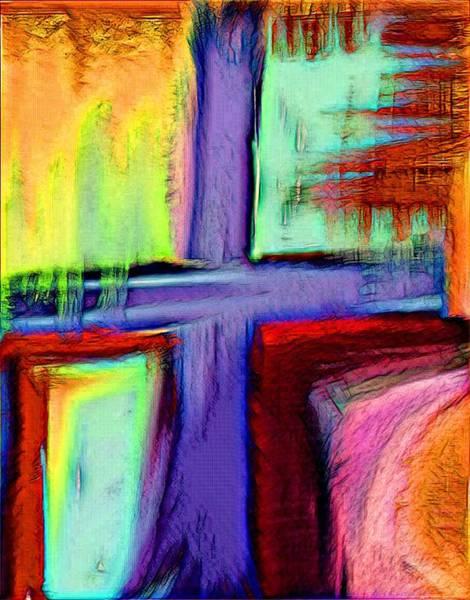 Digital Art - Cross Of Hope by Jessica Eli