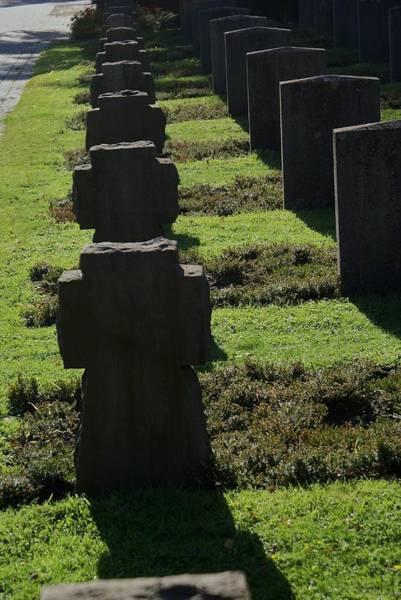 Cementery Photograph - Cross by Pedro Benjamin Munoz