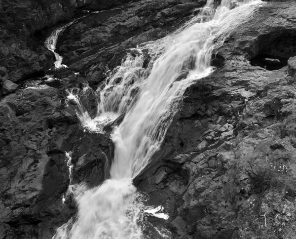 Wall Art - Photograph - Cross River Falls by John Ricker