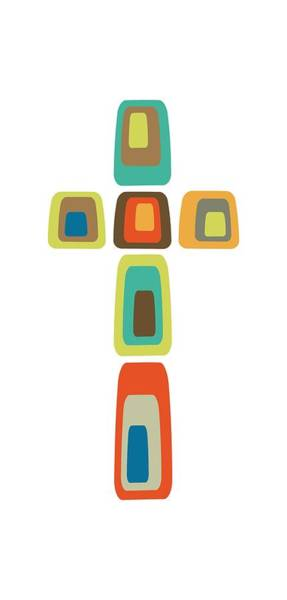 Digital Art - Cross  by Donna Mibus
