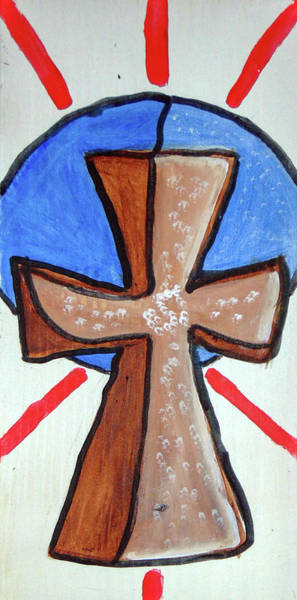 Painting - Cross2346 by Loretta Nash