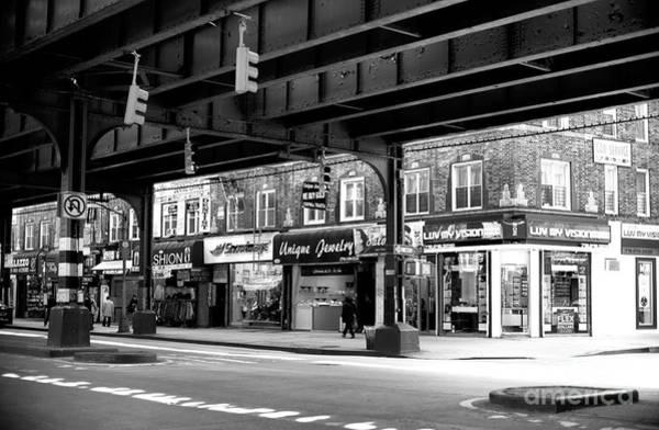 Photograph - Crossing Brighton Beach Avenue In Brooklyn by John Rizzuto