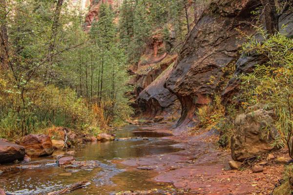Photograph - Crossing Oak Creek by Teresa Wilson