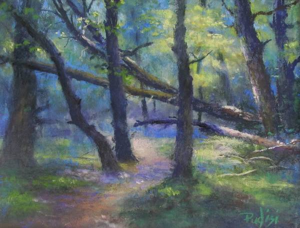 Pastel - Crossing Over by Bill Puglisi