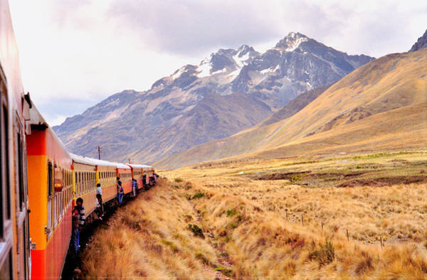 Crossing The Andes Art Print