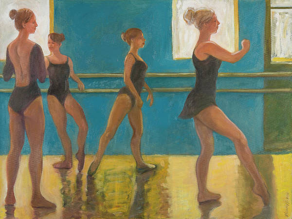 Painting - Crossing The Floor by Laura Lee Cundiff