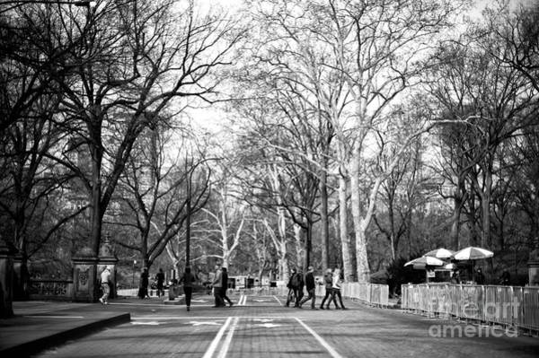 Photograph - Crossing The Mall by John Rizzuto