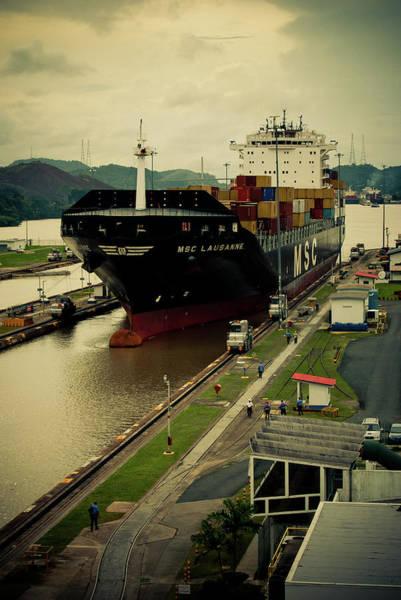 Panama Photograph - Crossing The Panama Canal by Iris Greenwell