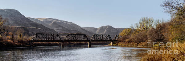 Photograph - Crossing The Red Deer River by Brad Allen Fine Art