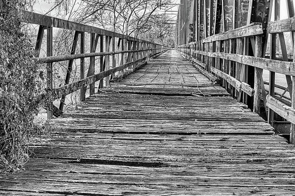 Red Bluff Photograph - Crossing The Red River by JC Findley