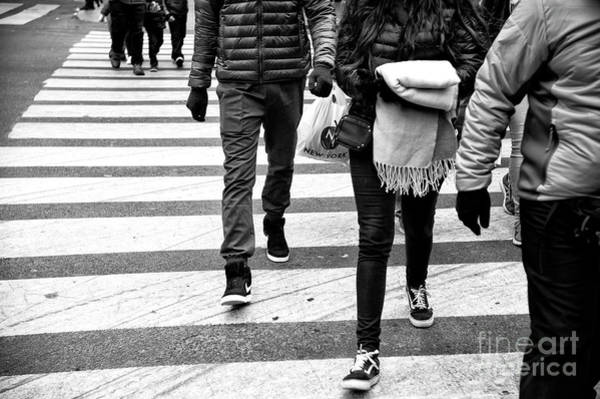 Photograph - Crossings With Blanky New York City by John Rizzuto