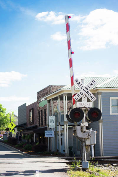 Photograph - Crossings In Old Town Helena by Parker Cunningham