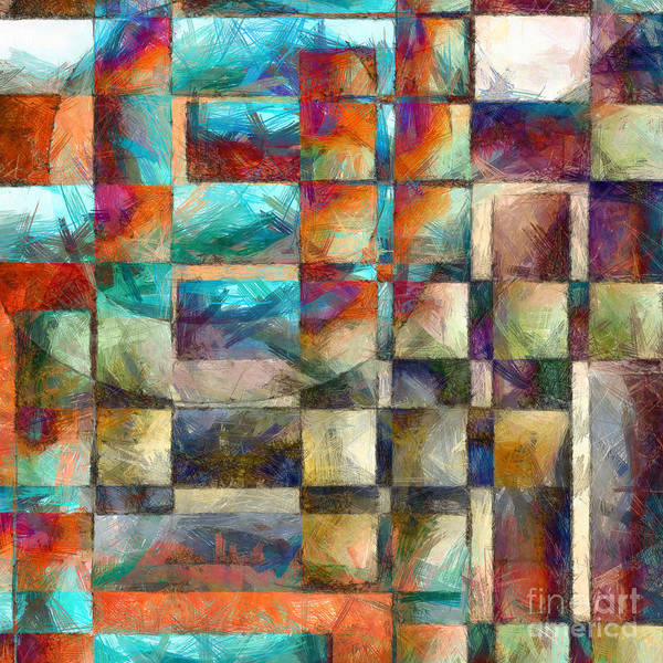 Photograph - Crossover Abstract Pencil by Edward Fielding