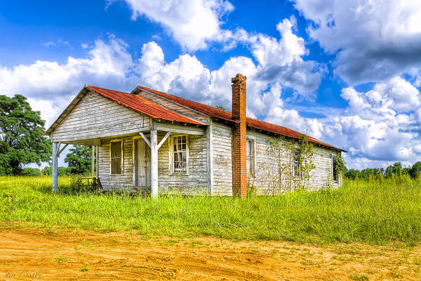 Photograph - Crossroad Store - Rural Georgia Landscape by Mark Tisdale