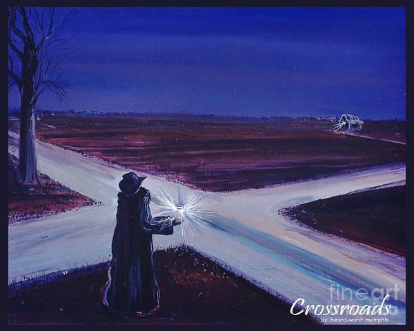 Mixed Media - Crossroads by Lizi Beard-Ward