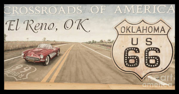 Photograph - Crossroads Of America El Reno Ok by Imagery by Charly