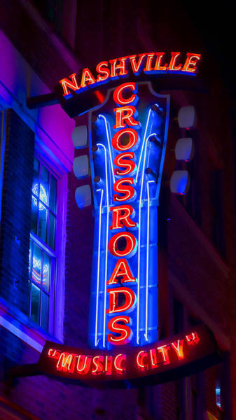 Frets Photograph - Music City Crossroads by Stephen Stookey