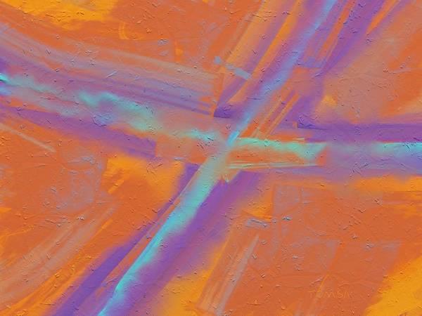 Work Of Art Digital Art - Crossroads Vi - Art By Bill Tomsa by Bill Tomsa