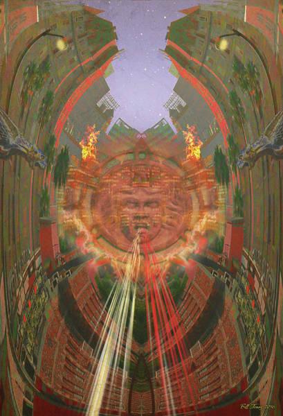 Gargoyle Digital Art - Crosstown Traffic by Bill Jonas