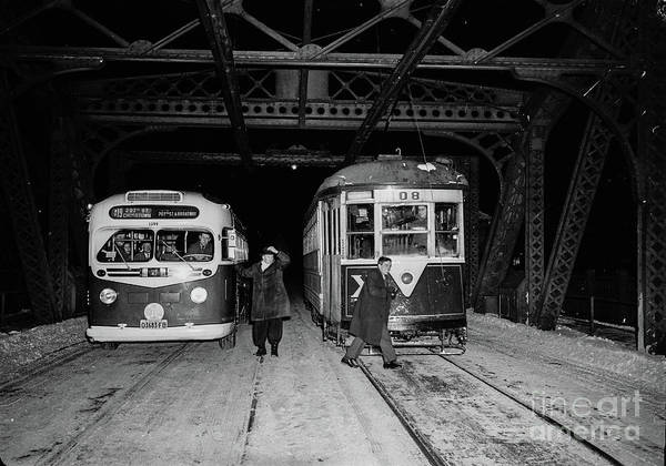Photograph - Crosstown Trolley by Cole Thompson