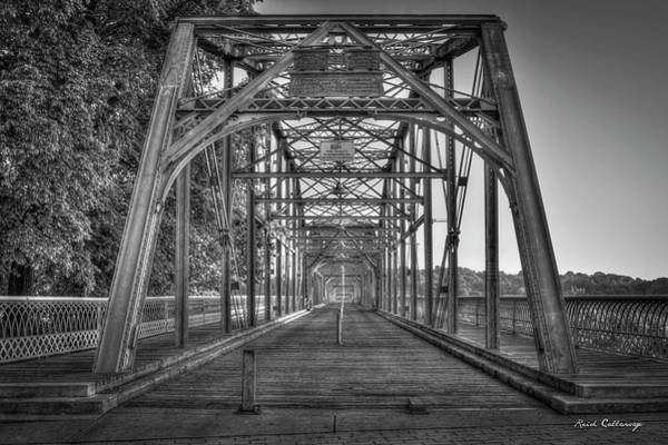 Camelback Mountain Photograph - Crossway Connection Walnut Street Pedestrian Bridge Chatanooga, Tennessee Art  by Reid Callaway