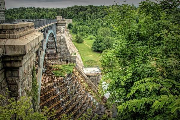 Photograph - Croton Dam New York by Kristia Adams