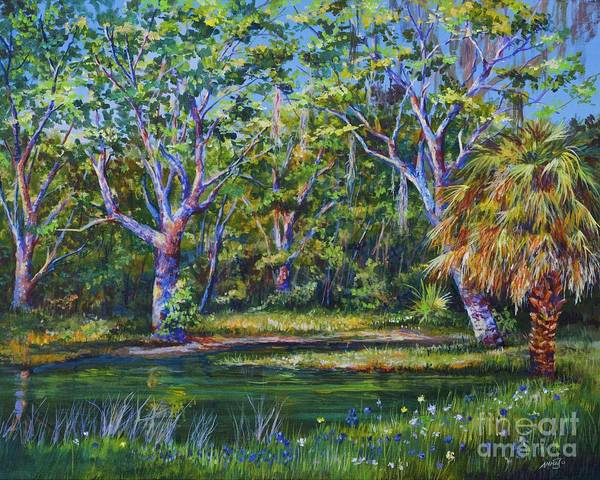 Wall Art - Painting - Croton Pond by AnnaJo Vahle