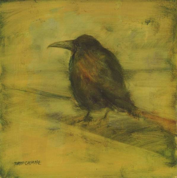 Daring Painting - Crow 27 by David Ladmore