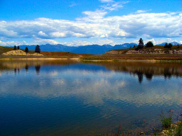 Wall Art - Photograph - Crow Lake Montana by Karon Melillo DeVega