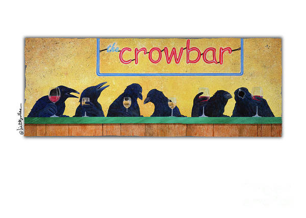 Wall Art - Painting - Crowbar by Will Bullas