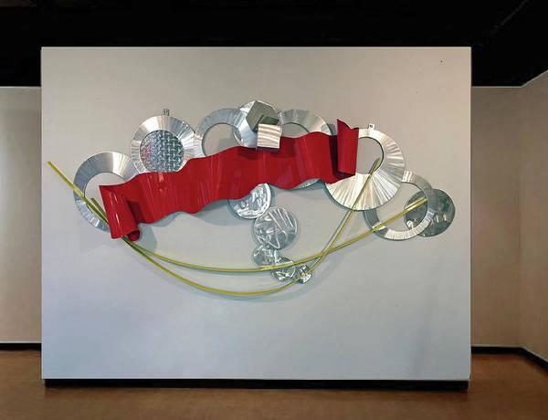 Wall Art - Sculpture - Crowded Heart by Mac Worthington