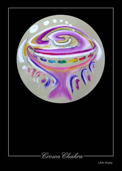 Pastel - Crown Chakra by John Quigley