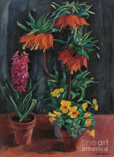 Crown Imperial Painting - Crown Imperial by Celestial Images