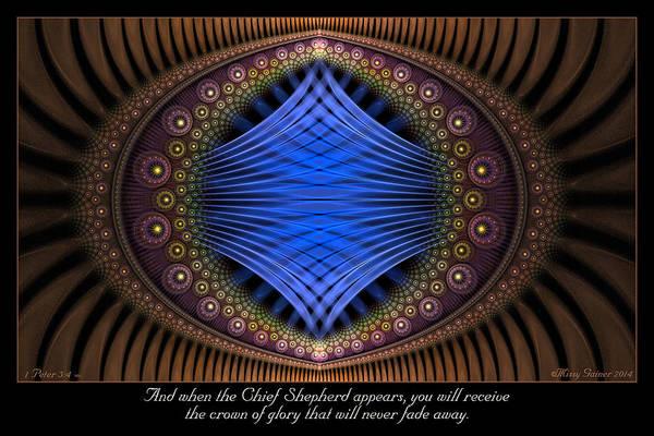 Digital Art - Crown Of Glory by Missy Gainer