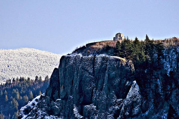 Photograph - Crown Point Vista House by Albert Seger