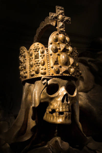 Photograph - Crowned Death by Marc Huebner