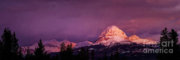 Photograph - Crowsnest Sunrise by Brad Allen Fine Art