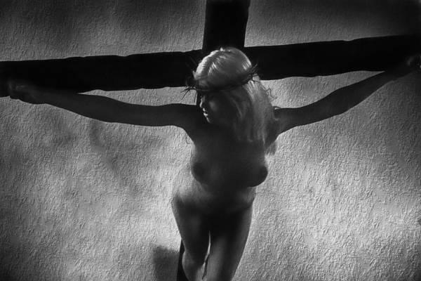 Crucifiction Wall Art - Digital Art - Crucification I by Ramon Martinez