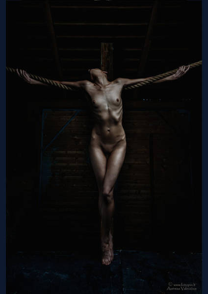 Crucifiction Wall Art - Photograph - Crucifix by Aurimas Valevicius