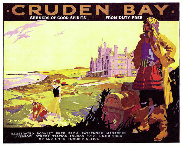 Wall Art - Painting - Cruden Bay, Scotland by Long Shot