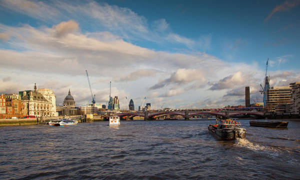Photograph - Cruise On The Thames by Maggie McCall