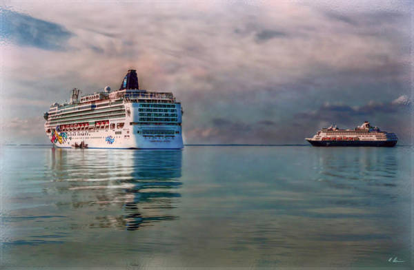 Holland America Line Wall Art - Photograph - Cruise Ship Parking by Hanny Heim