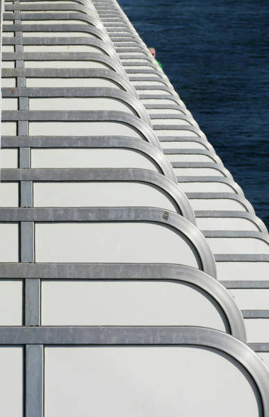 Photograph - Cruise Ship's Balconies by Paul Ross