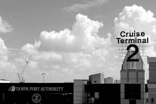 Port Of Tampa Wall Art - Photograph - Cruise Terminal 2 by Robert Wilder Jr